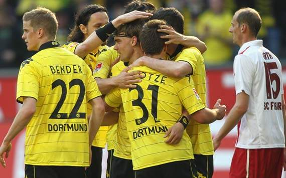 watch Borussia Dortmund goals video highlights