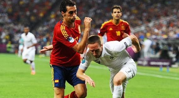 France vs Spain 2013 Goals Video