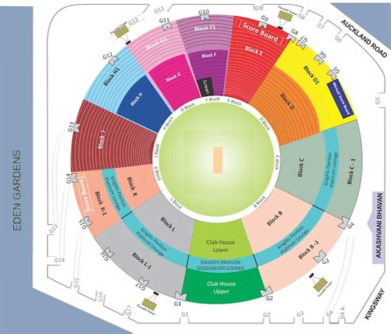 KKR Tickets IPL 2013