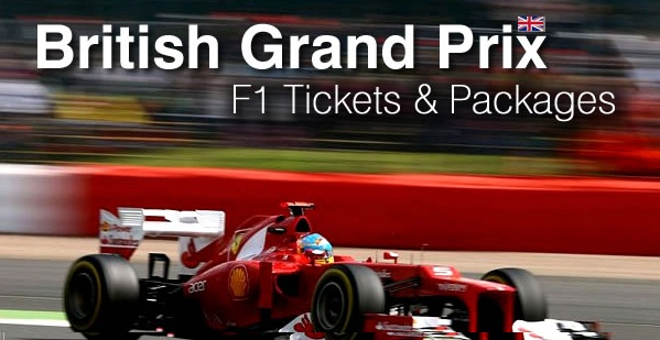 F1 Silverstone Tickets and packages