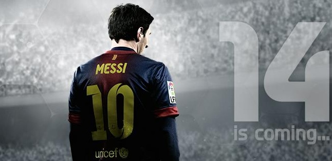 FIFA 14 Messi cover photo