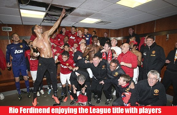 Manchester United 20th league title celebrations 2013
