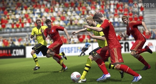 FIFA 13 Gamplay Video