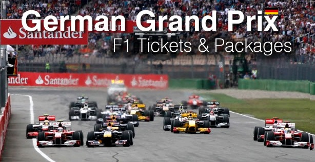 Buy Nurburgring Formula 1 Tickets