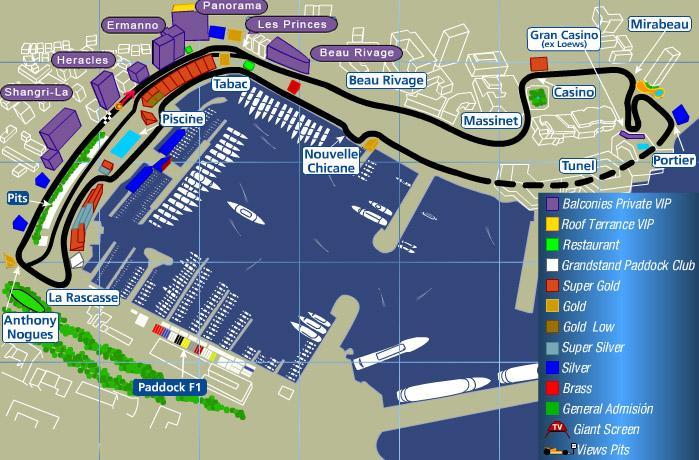 Monaco Grand Prix Tickets