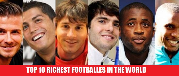 Highest earning football players 2013