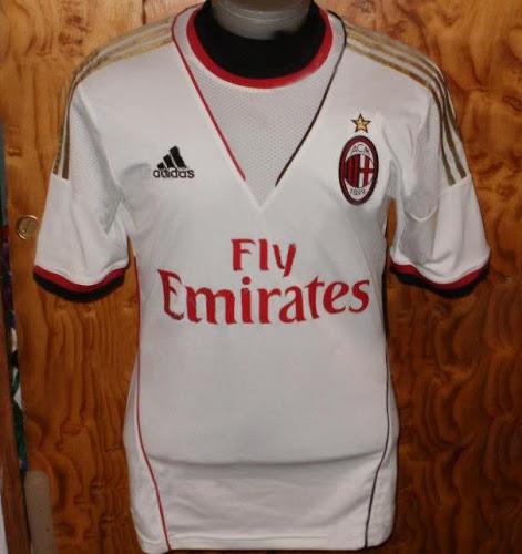 Milan 2014 Away Shirt