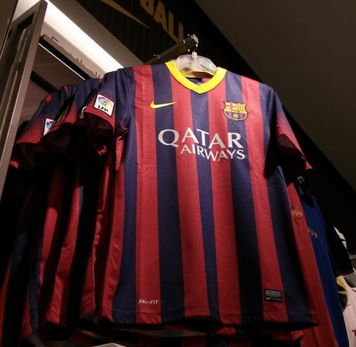 Barcelona shirt home 2014