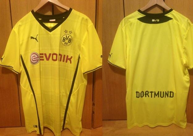 Borussia Dortmund kits 2013-2014