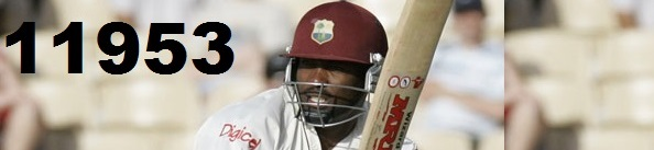 Brian Lara Total Test Runs