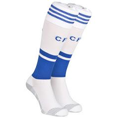 Chelsea home kit white socks 2014