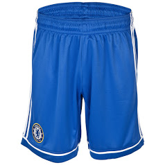 Chelsea home shorts blue 2014