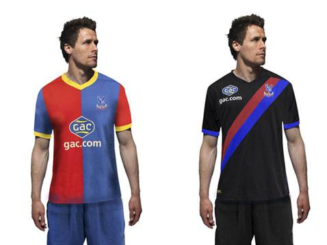4149e056ad94 Crystal Palace Kits 2013-2014 Home Away EPL Shirts Official