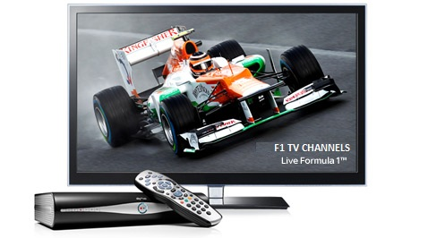 F1 TV Channels Broadcasting 2013 Grand Prix races live