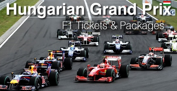 F1 Hungary Grand Prix Tickets