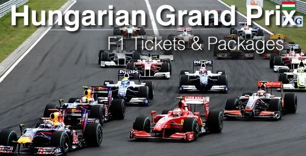 F1 Hungary Grand Prix Tickets