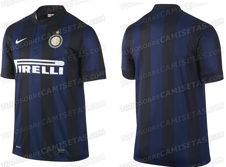 best sneakers 40f74 ac2b8 Inter Milan 2013/14 Home Aways Shirts - Official Kits