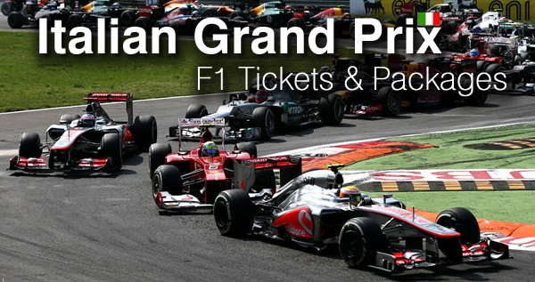 F1 Italian Monza Grand Prix Tickets 2014 - Prices Guide