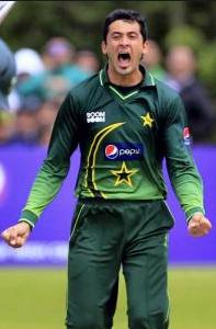 Junaid Khan Pakistan fast bowler