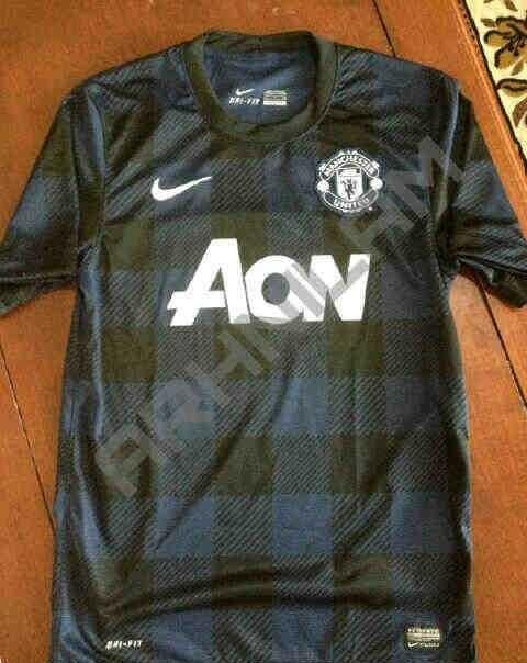 Manchester United away shirt 2013/14