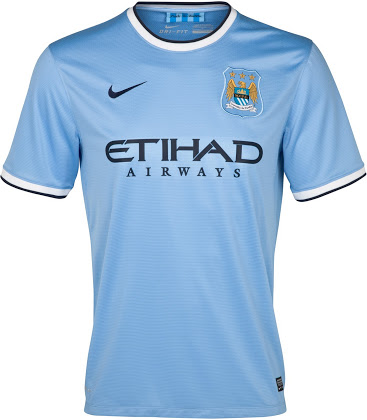 Man City new shirt 2013-2014