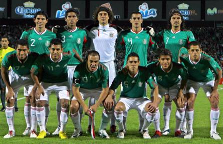 Mexico team squad 2013