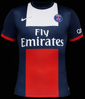 Paris Saint Germain 2014 home jersey