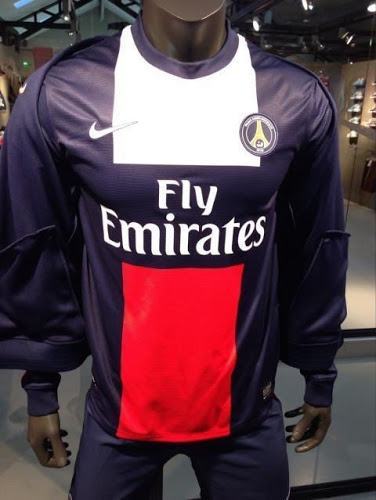 PSG 2014 home kit design