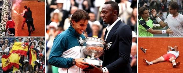Nadal wins Roland Garros 2013