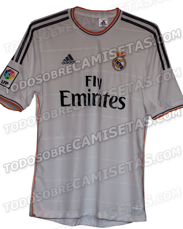half off 88911 2e1d7 Real Madrid 2014 Home Away Shirts - New Official Jerseys