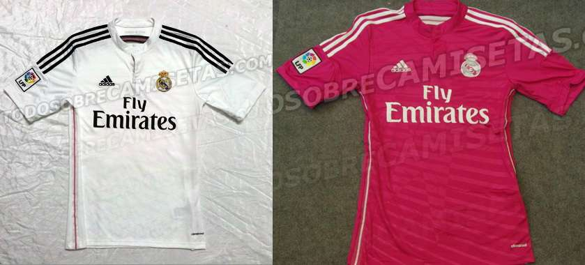 Real Madrid home away kits 2014-15 Leaked