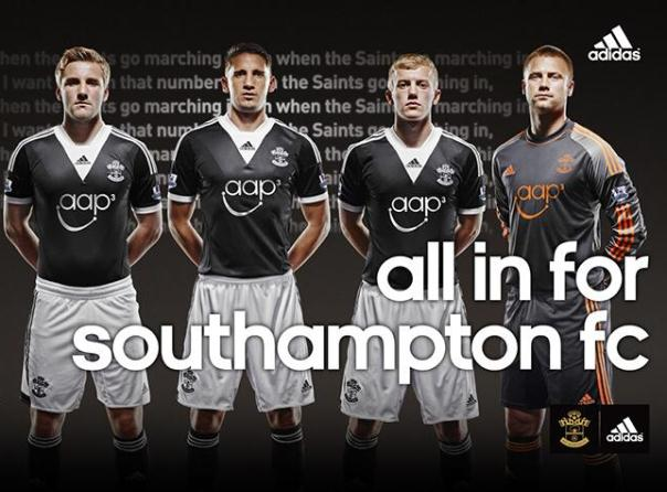 Southampton away kits 2014