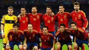 Spanish 23 Man Squad 2013