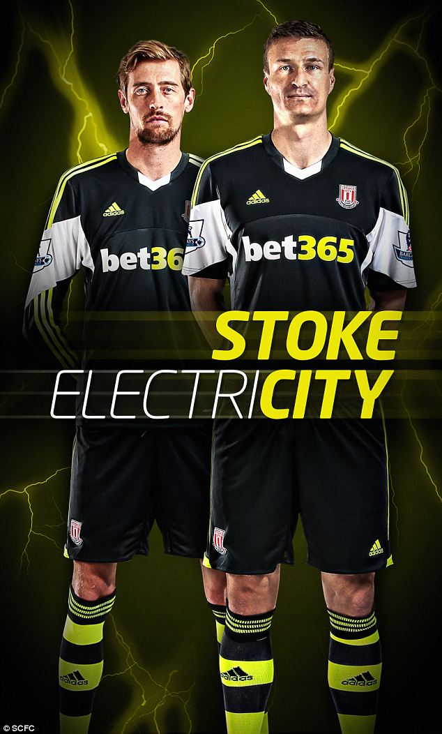 Stoke City 2014 kits shirts