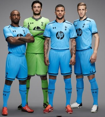 Tottenham Away kit 2013-14