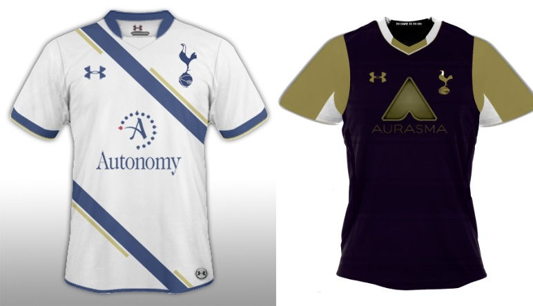 Tottenham kits 2014