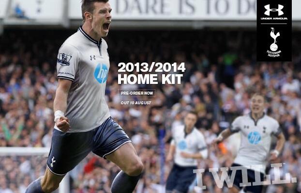 Tottenham official kit revealed