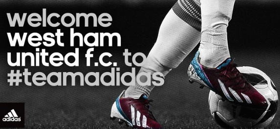 West Ham Adidas Kits 2013-2014