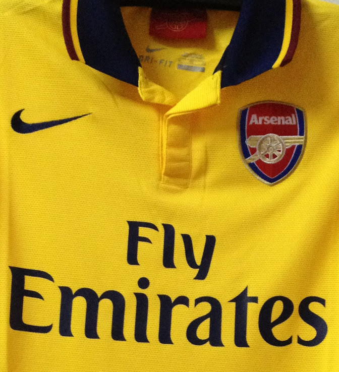 Arsenal Away Kit for 2014 season