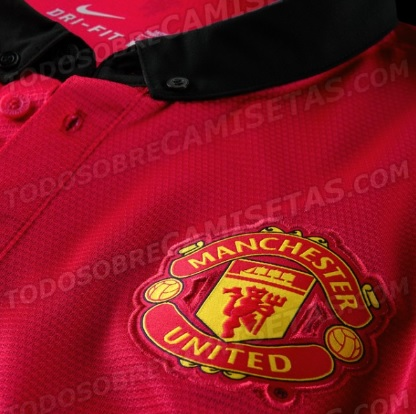 Manchester United home shirt 2014