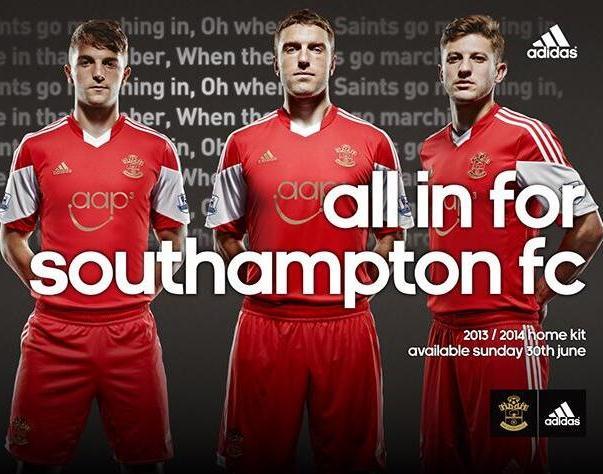 Southampton Shirts 2014