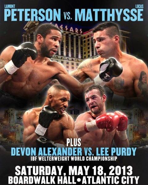 Alexander vs Purdy Live Stream