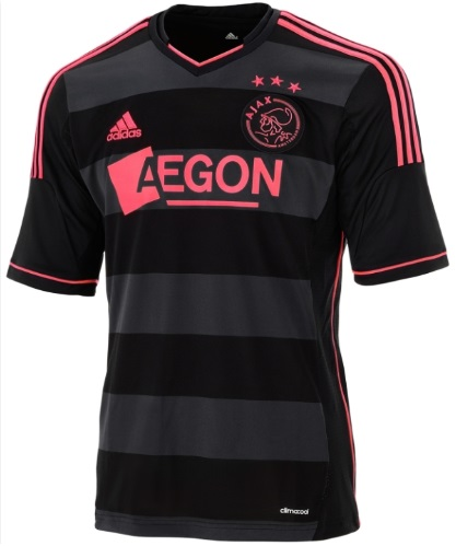 Ajax away shirts 2014
