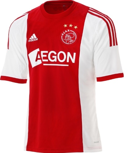 Ajax Amsterdam home kits 2014