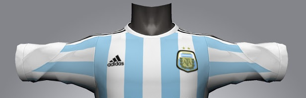 Argentina 2014 World Cup home jersey