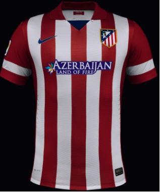Atletico Madrid Nike Home shirt 2014