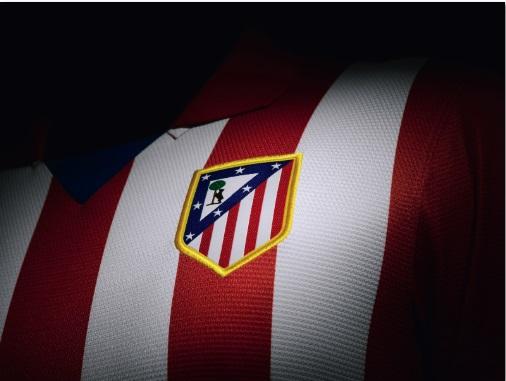 Atletico Madrid kit logo 2013-2014