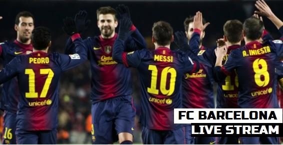 FC Barcelona 2014 Live Stream