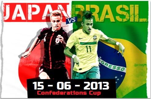 Brazil vs Japan Live Stream 2013