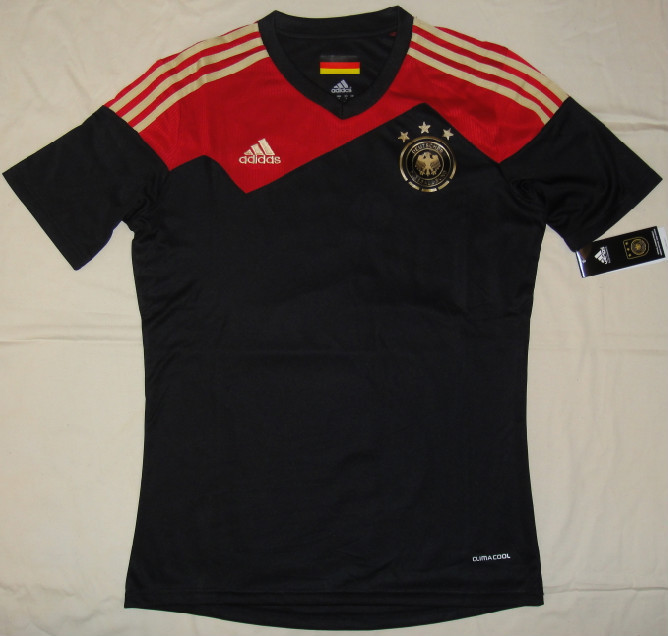 Germany 2014 World Cup away jersey black
